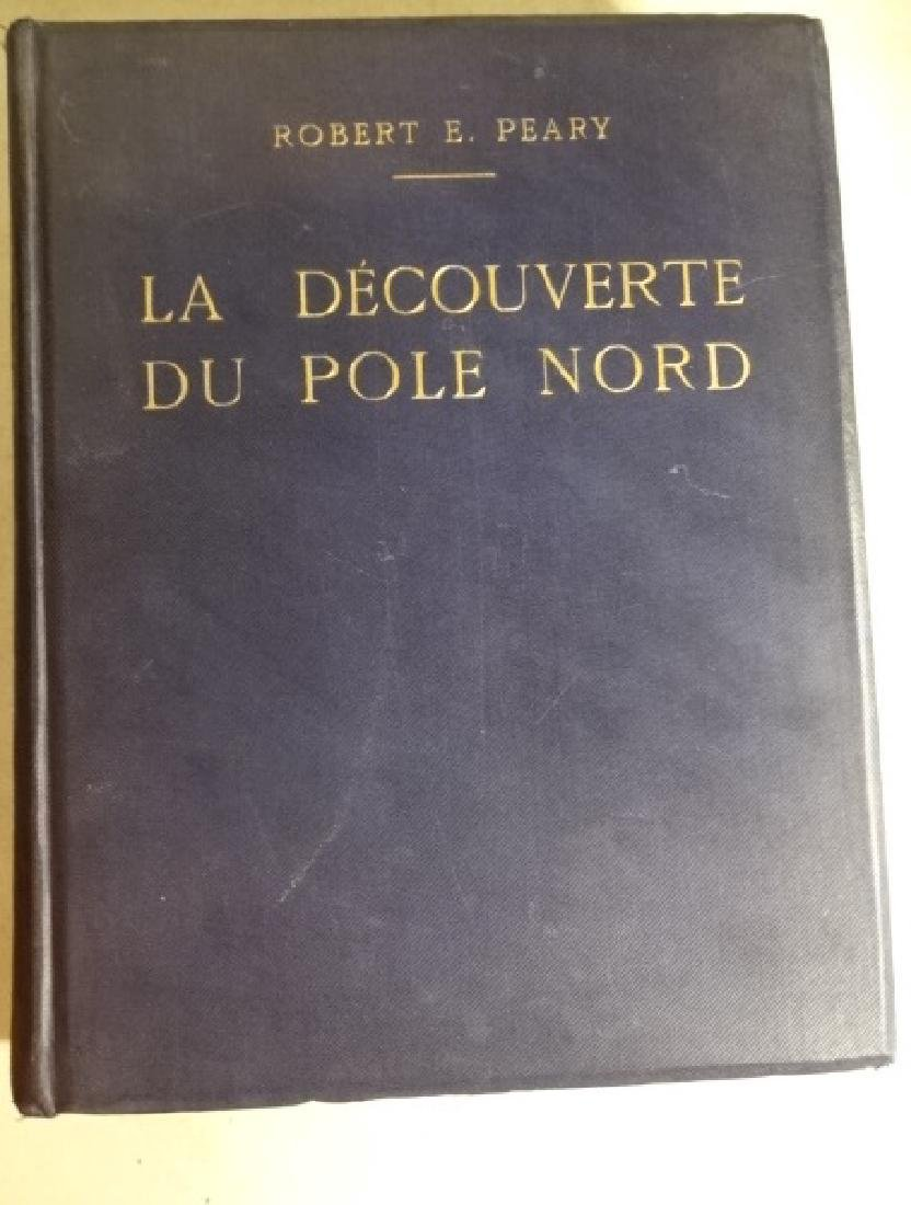 Robert Peary, Discover of the Nort Pole + Map