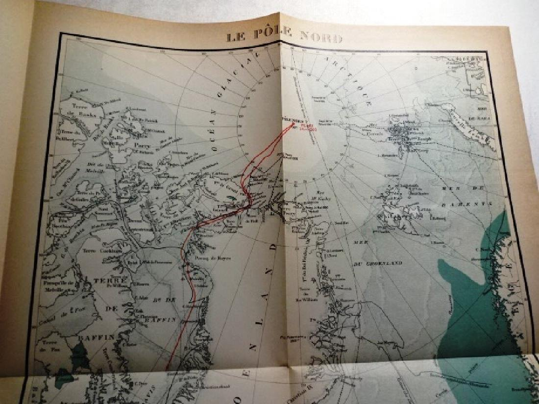 Robert Peary, Discover of the Nort Pole + Map - 4