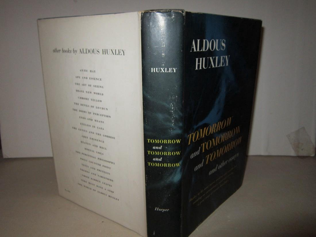 Aldous Huxley Tomorrow & Tomorrow & Tomorrow... Signed - 2