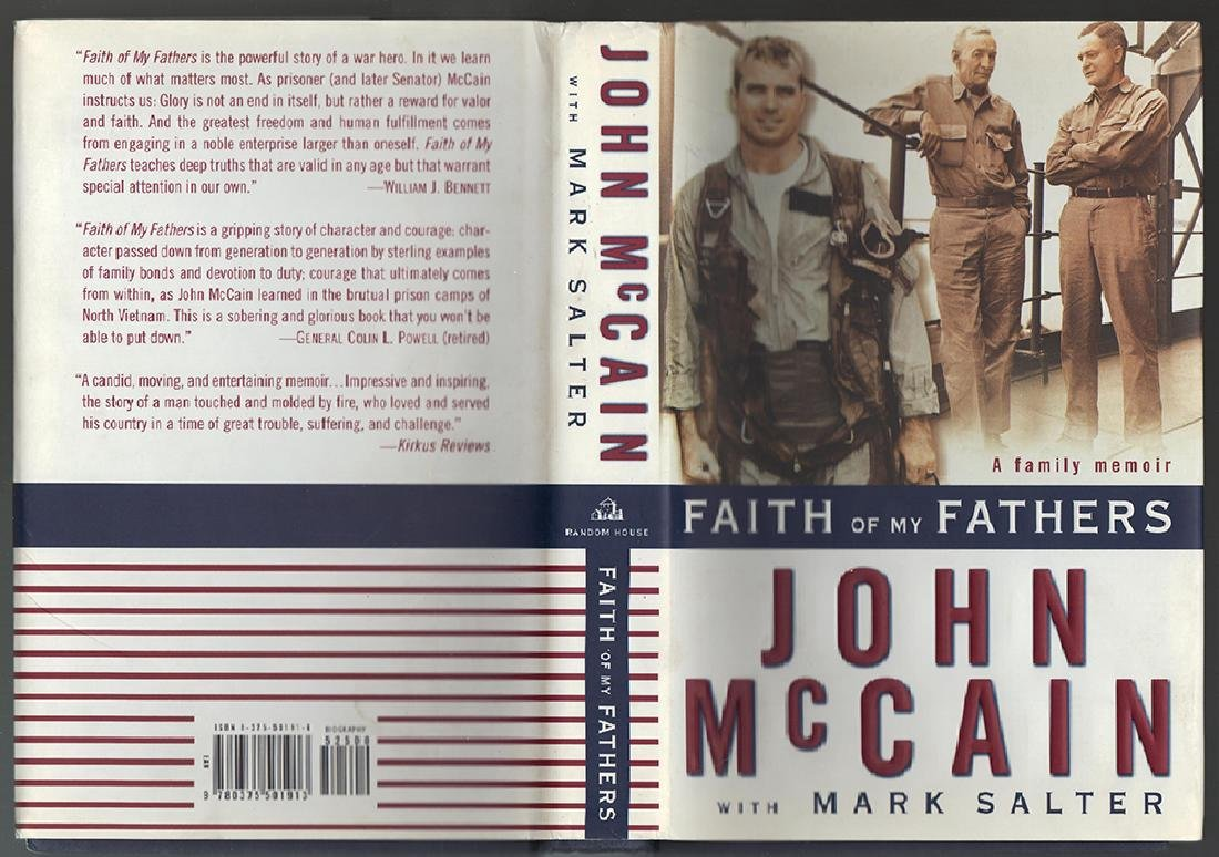 Faith of My Fathers 1st Ed. Sgnd by John Mccain. - 3