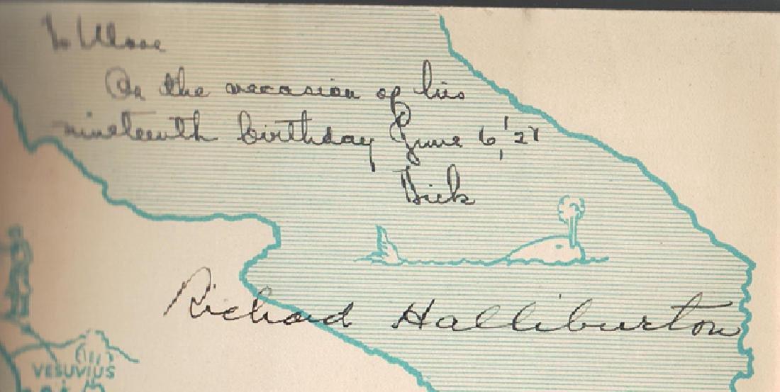 Glorious Adventure, Richard Haliburton, Signed, 1st Ed - 2