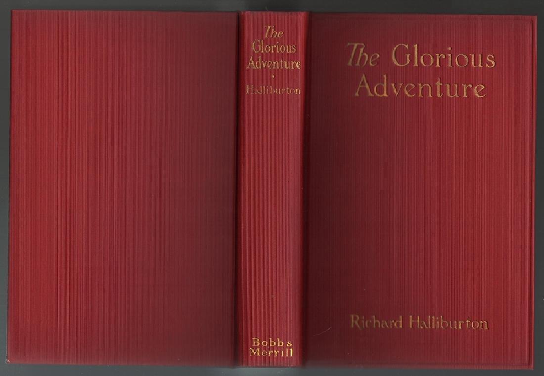Glorious Adventure, Richard Haliburton, Signed, 1st Ed - 3