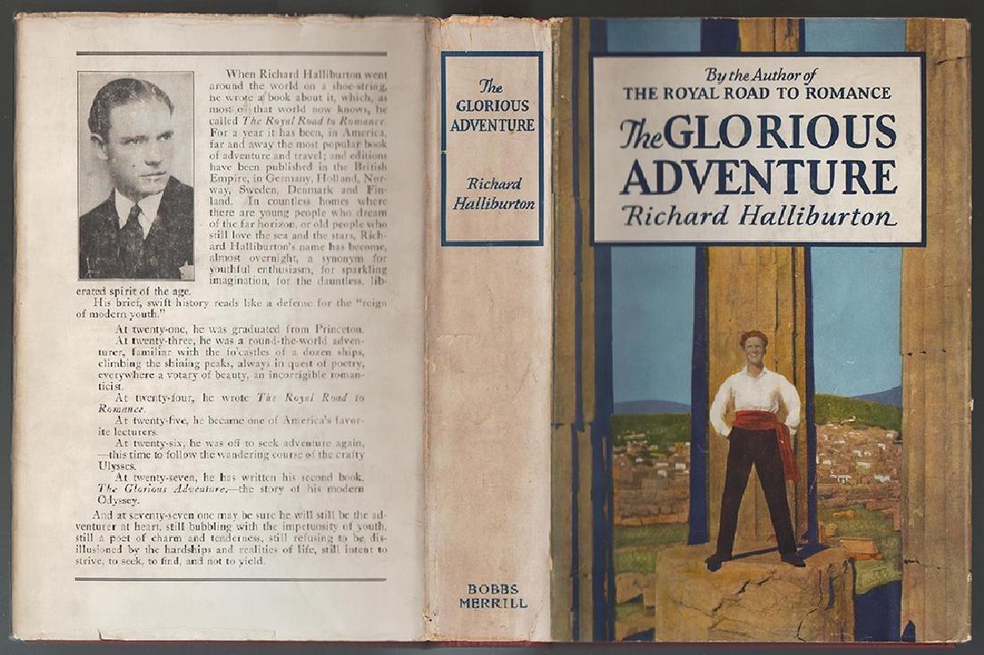 Glorious Adventure, Richard Haliburton, Signed, 1st Ed - 4