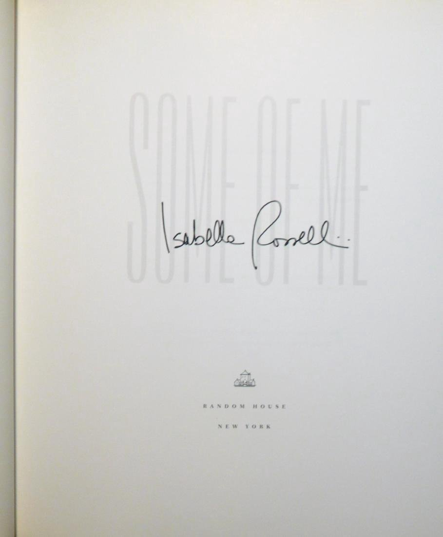 Isabella Rossellini, Some of Me, Signed - 4
