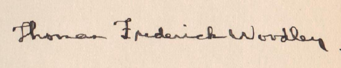 Thaddeus Stevens, Inscribed Gov. Edward Martin of Penn