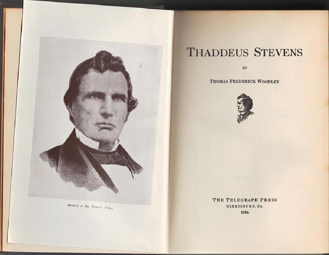 Thaddeus Stevens, Inscribed Gov. Edward Martin of Penn - 4