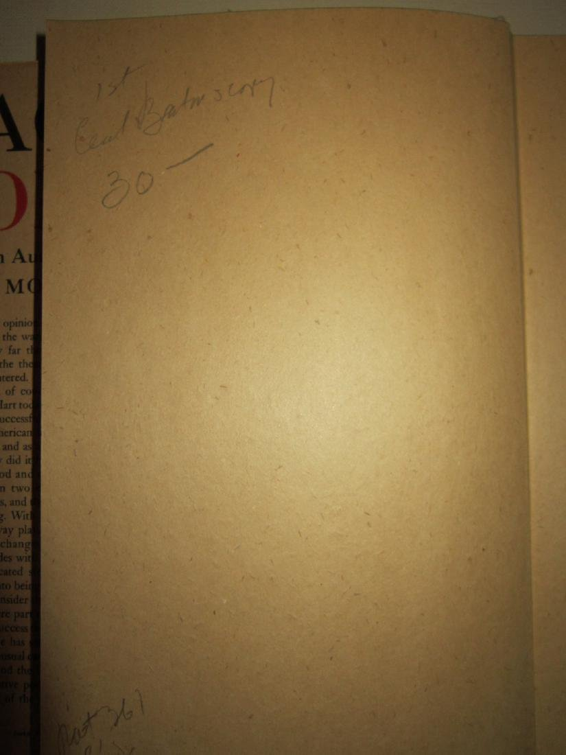Act One: an Autobiography by Moss Hart Inscribed - 4