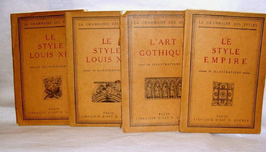 La Grammaire Des Styles, French , 4 Vols, Illustrated