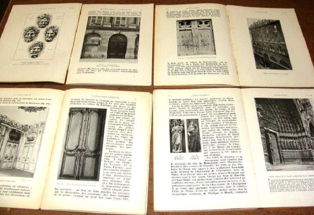 La Grammaire Des Styles, French , 4 Vols, Illustrated - 2