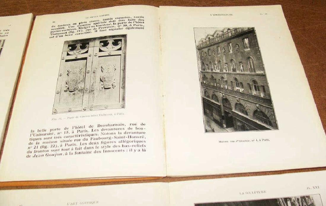 La Grammaire Des Styles, French , 4 Vols, Illustrated - 6