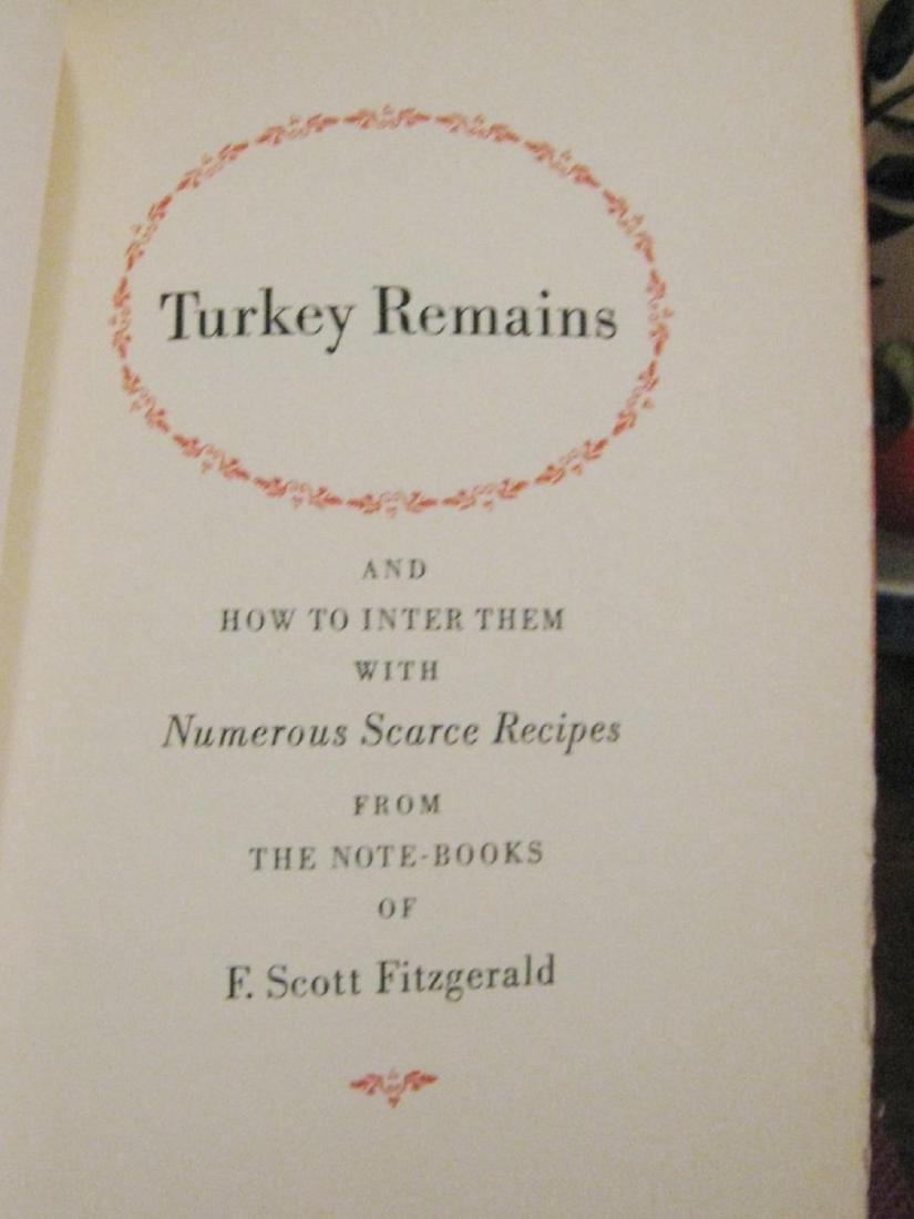 Turkey Remains & How to Inter Them, F. Scott Fitzgerald - 2