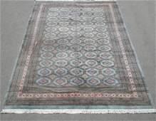 Semi Antique Bokhara Wool Hand Woven Rug