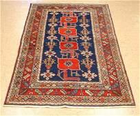 Antique Caucasian Shirvan Kazak Hand Knotted Rug