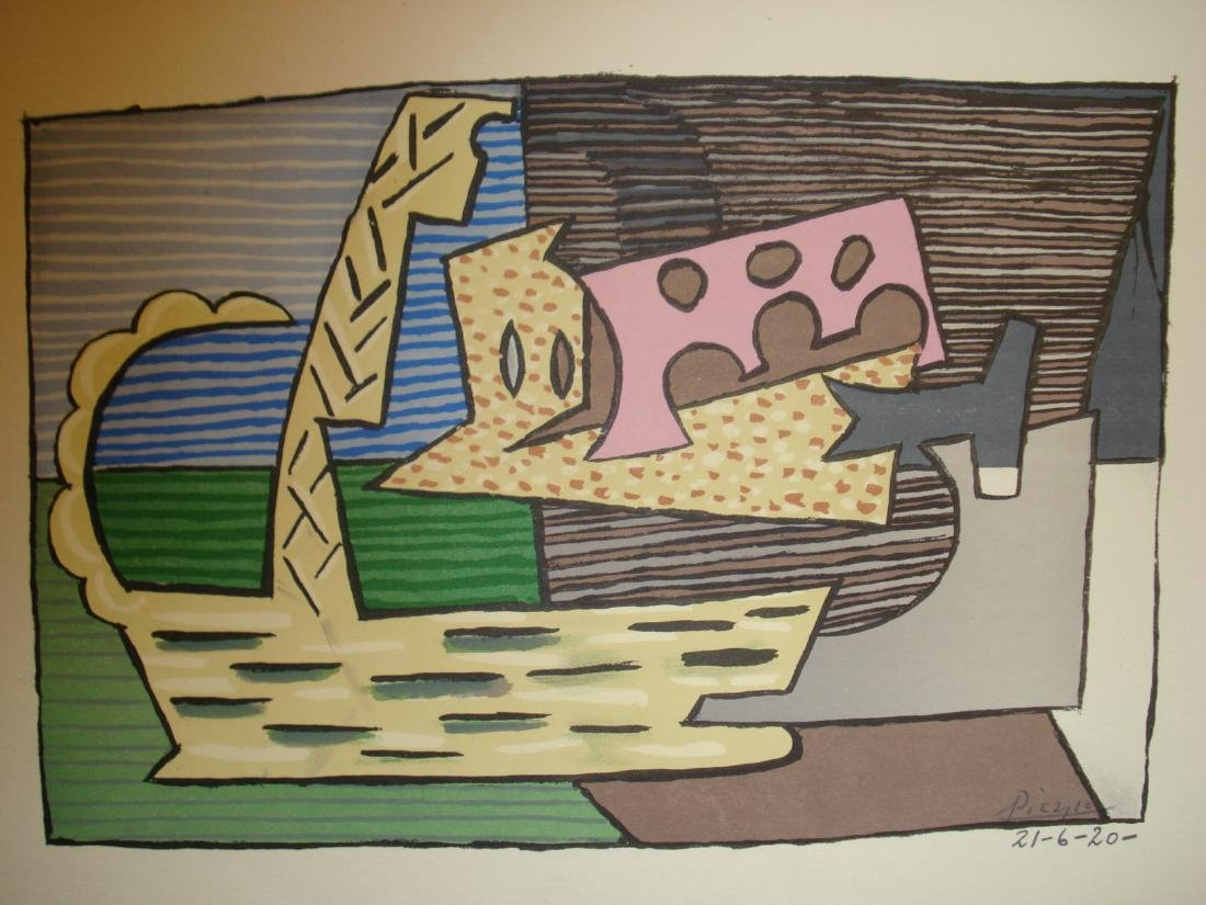 Pablo Picasso: The Basket Lithograph