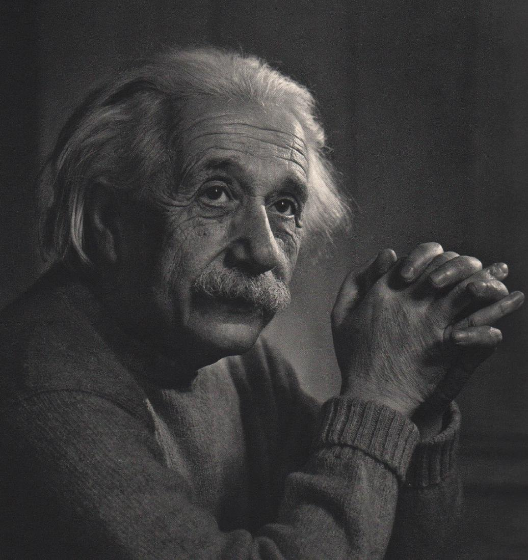 YOUSUF KARSH - Portrait of Albert Einstein