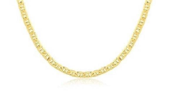 14K Brazilian Gold Filled Chain 24