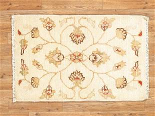 Indo Chobi Hand Crafted Wool Area Rug
