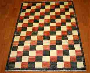 Gabbeh Contemporary Handmade Wool Rug