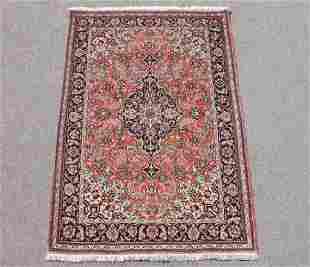 Silk Persian Qum Hand Woven Rug