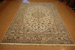 Antique Persian Kashan Kork Wool Rug