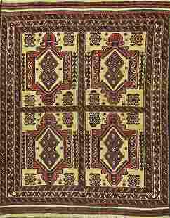Pakistan 100 Wool Pile Hand Woven Rug