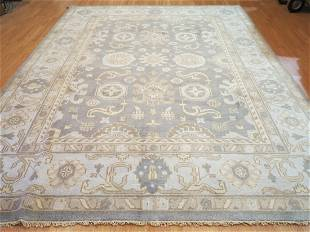 Antique Look Oushak Hand Crafted Rug
