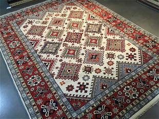 Yalameh Design Hand Woven Wool Rug