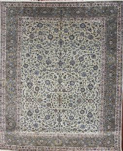 Persian Kashan Handmade Wool Rug