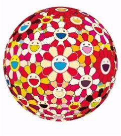 Takashi Murakami Flower Ball Lithograph Print