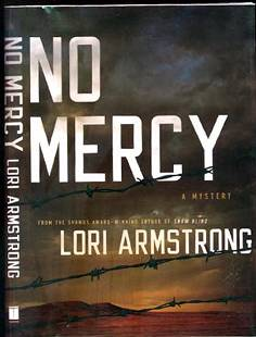 No Mercy Lori Armstrong Signed First Edition