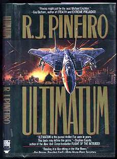 Ulimatum R J Pinero Signed First Edition