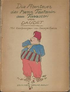 Die Abenteuer Herrn Tartarin aus Tarascon von Daudet