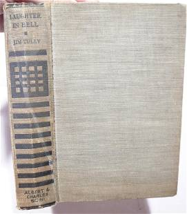Tully Jim LAUGHTER IN HELL First Edition