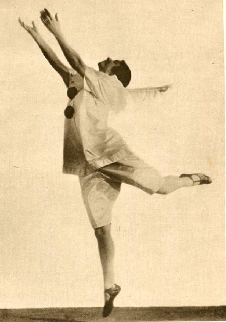 HUGO ERFURTH - 1920's Dancer Ronny Johansson