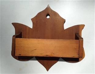 19th Century Pine Wall Box