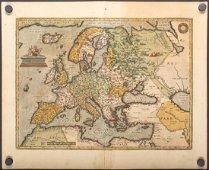 Ortelius: Antique Map of Europe, 1584
