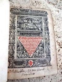 1520 Duns ScotusVolume of Three Works Bound Together