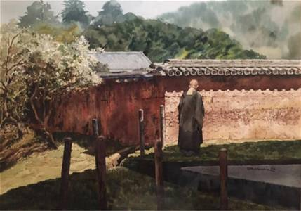 Frederick Harris Nara / Walls Watercolor