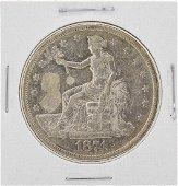 1874 $1 Silver Trade Dollar Coin
