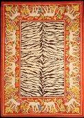 Antique Spanish Zebra Rug
