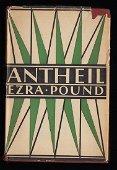 Antheil Ezra Pound First American Edition