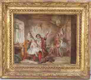 Abraham Solomon Oil Painting