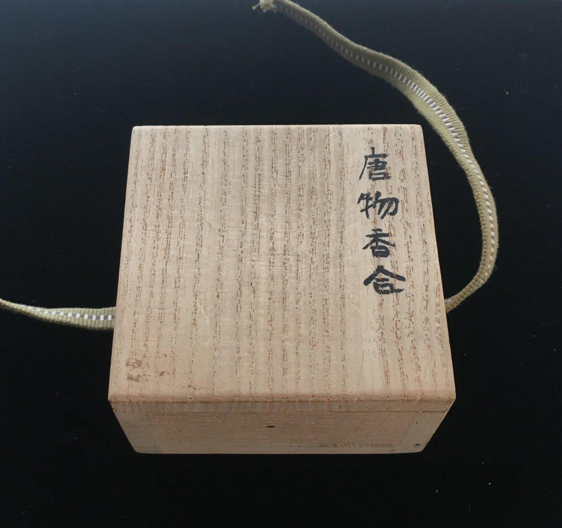 Antique Japanese Edo Lacquer Incense Container, 18th C - 2