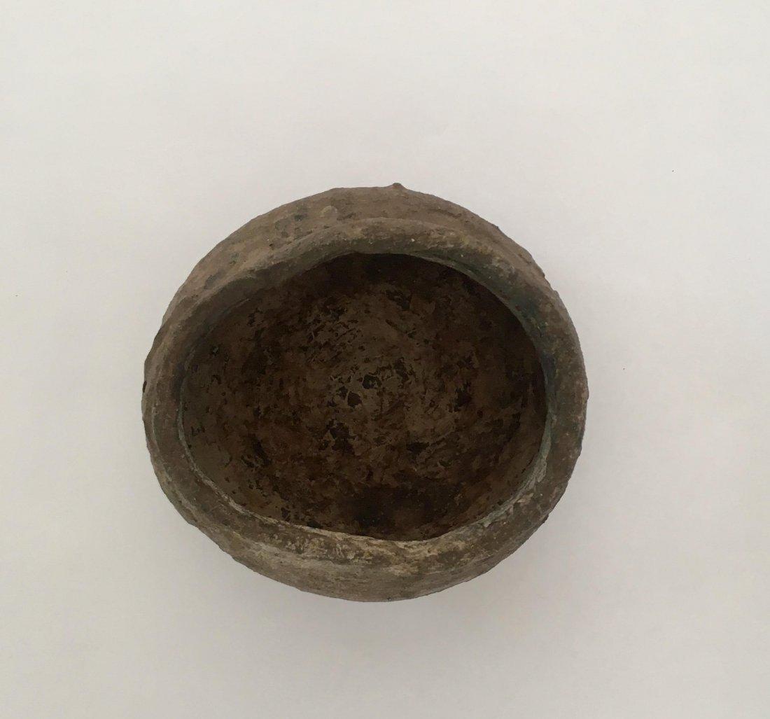 Antique Japanese Edo Bizen Ceramic Water Container - 5