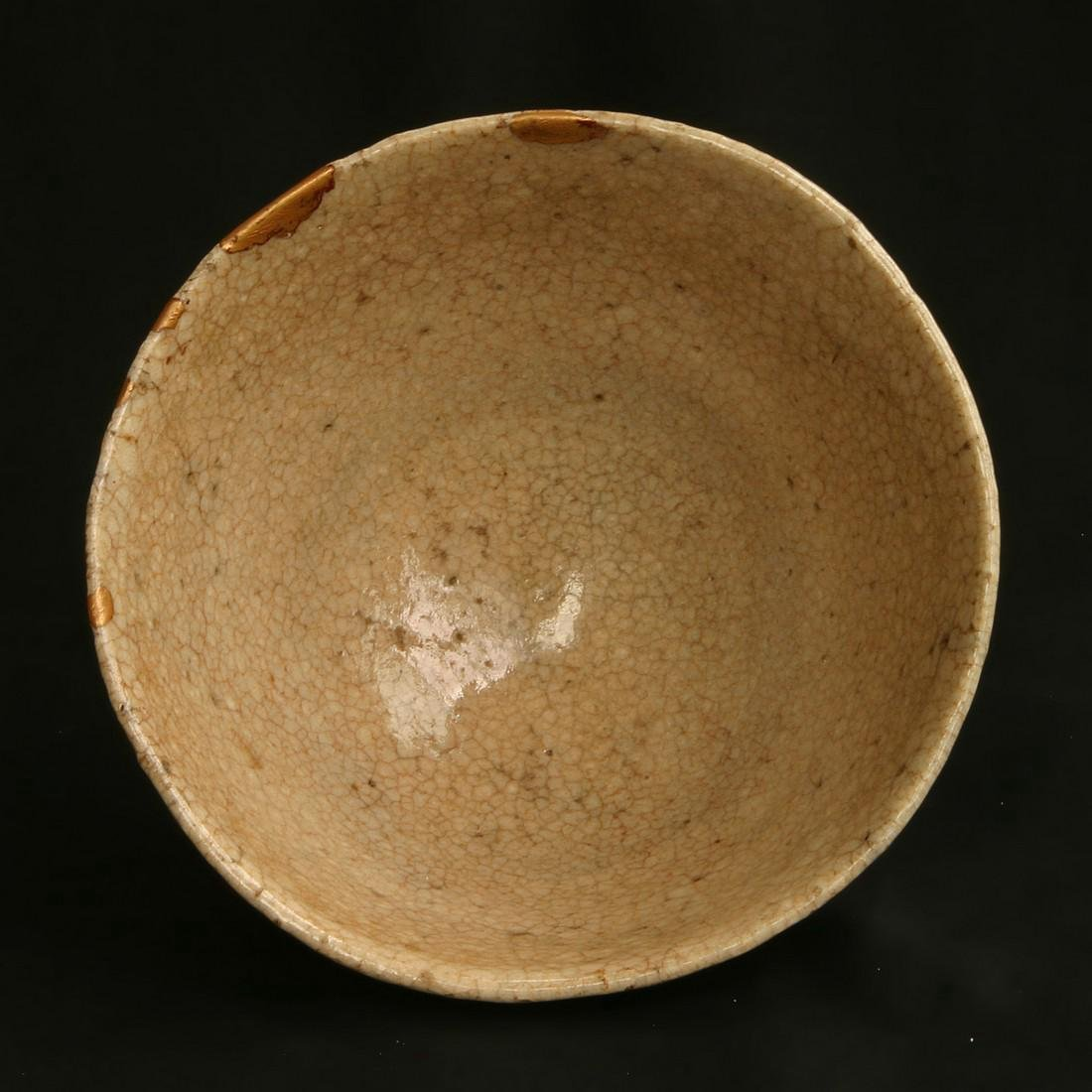 Antique Japanese Edo Glazed Ceramic Tea Bowl, 18th C - 5