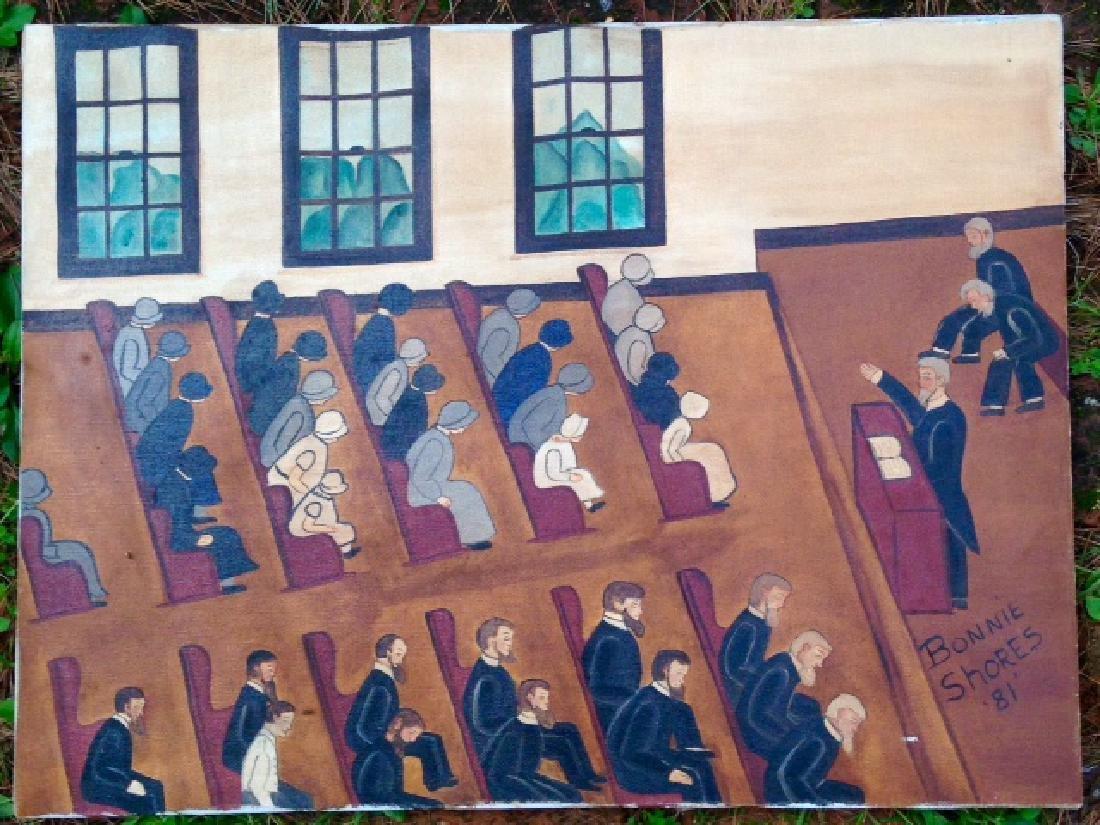 Folk Oil Painting