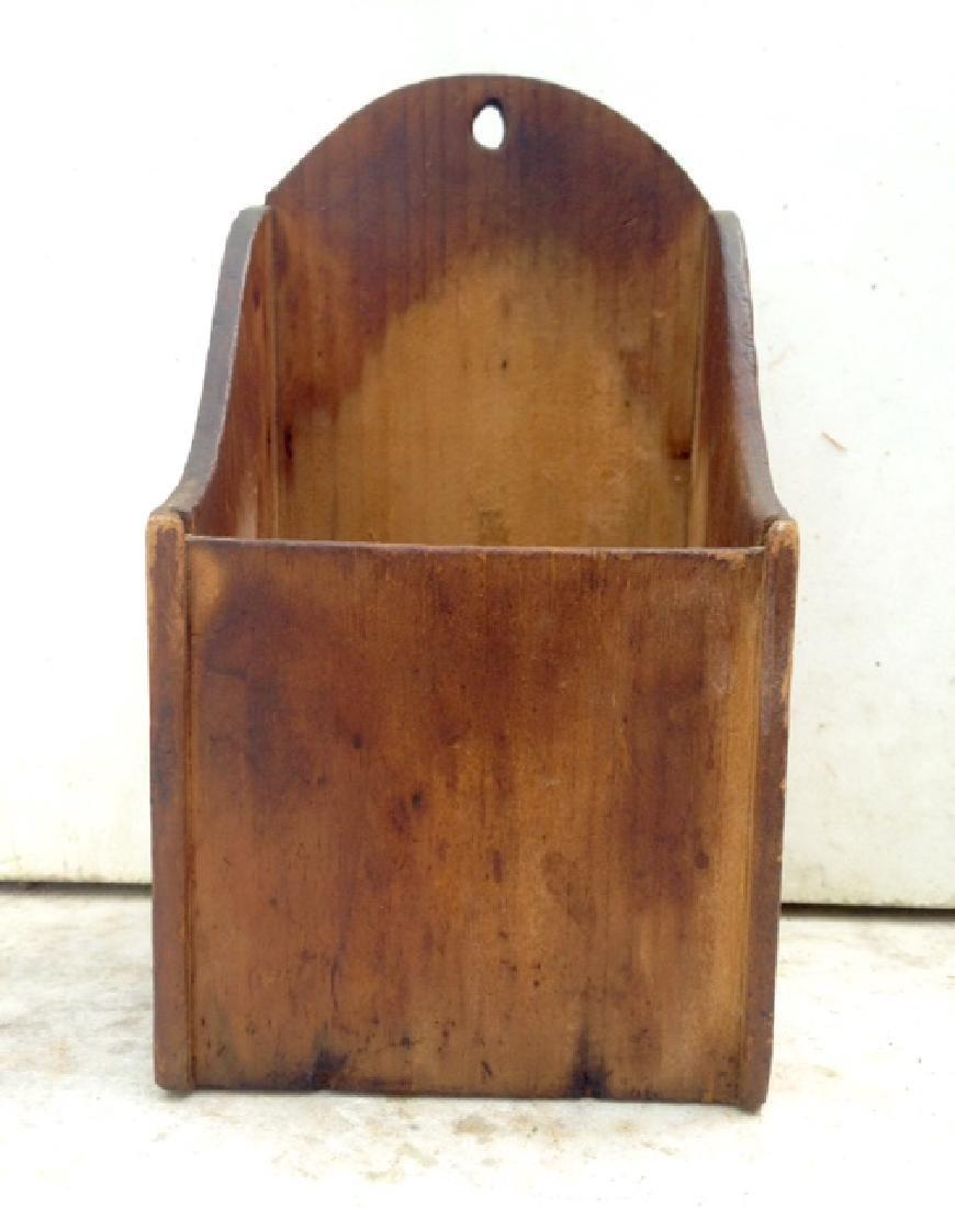 Late 19th Century Pine Wallbox