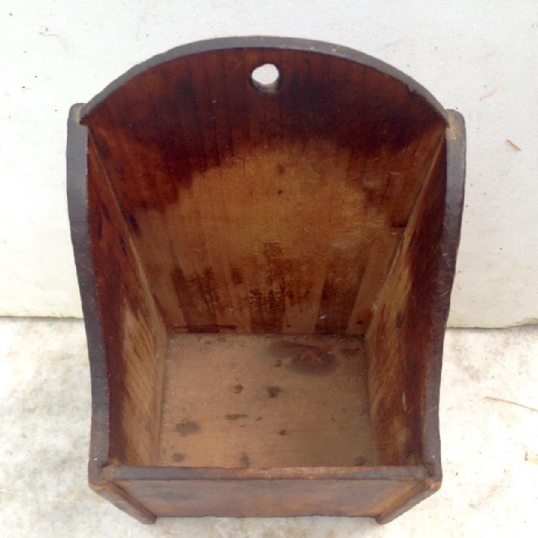 Late 19th Century Pine Wallbox - 2