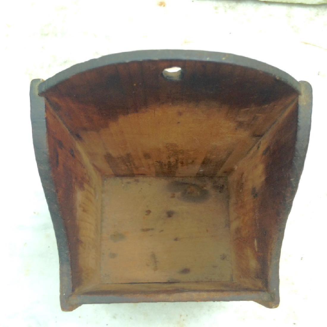 Late 19th Century Pine Wallbox - 4
