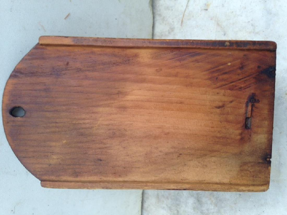 Late 19th Century Pine Wallbox - 6